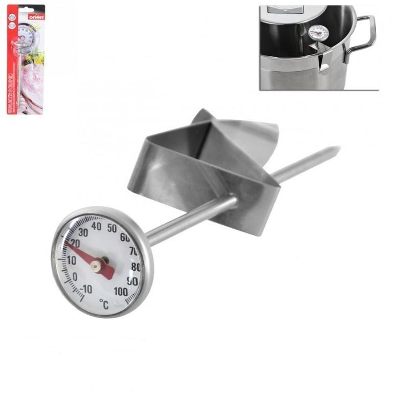 Kuchyňský teploměr s klipem